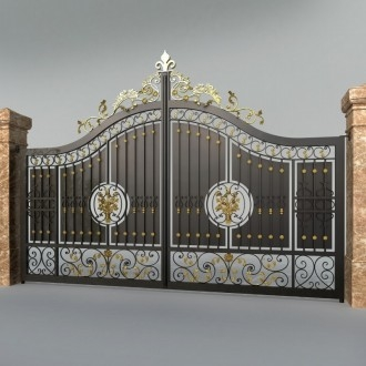 类别庭院大门围栏的图片