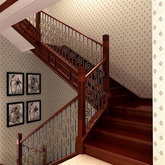类别中式楼梯扶手的图片