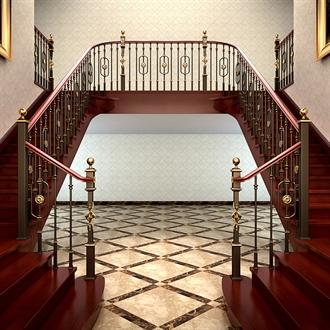 类别奢华楼梯扶手的图片