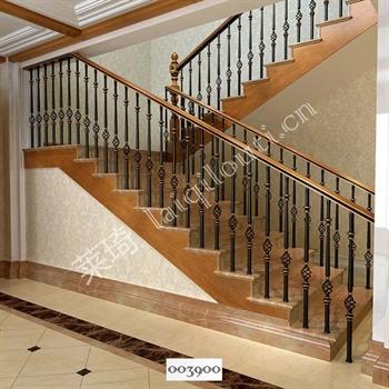 手工锻造铁艺楼梯003900的图片