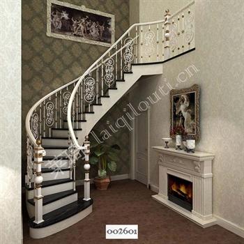 手工锻造铁艺楼梯002601的图片
