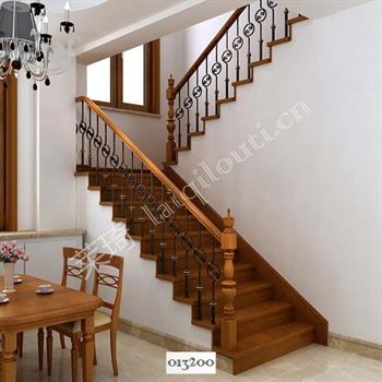 手工锻造铁艺楼梯013200的图片