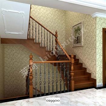 手工锻造铁艺楼梯019900的图片