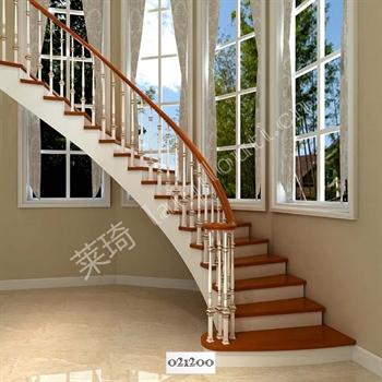 手工锻造铁艺楼梯021200的图片