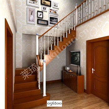 手工锻造铁艺楼梯056200的图片