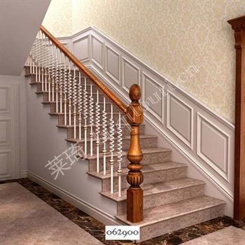 手工锻造铁艺楼梯062900的图片