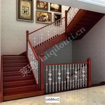手工锻造铁艺楼梯068802的图片