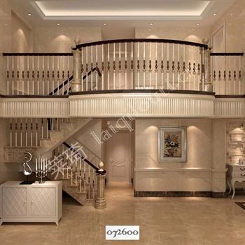 手工锻造铁艺楼梯072600的图片