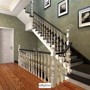 手工锻造铁艺楼梯089200的图片