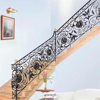 手工锻造铁艺楼梯400156的图片