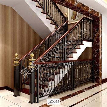手工锻造铁艺楼梯512022的图片