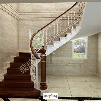 手工锻造铁艺楼梯007604的图片