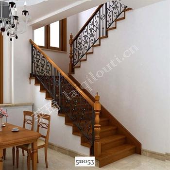 手工锻造铁艺楼梯511053的图片