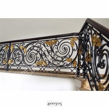 手工锻造铁艺楼梯400305的图片