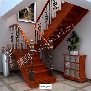 手工锻造铁艺楼梯001300的图片