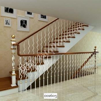 手工锻造铁艺楼梯001603的图片