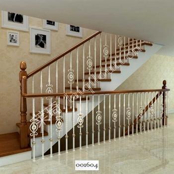 手工锻造铁艺楼梯001604的图片
