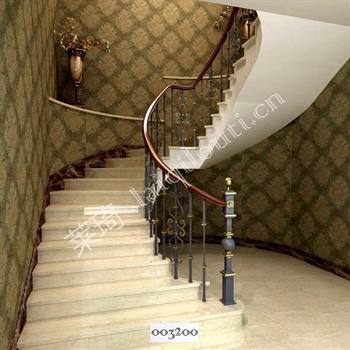 手工锻造铁艺楼梯003200的图片