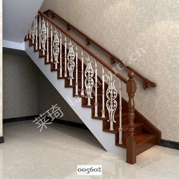 手工锻造铁艺楼梯005602的图片