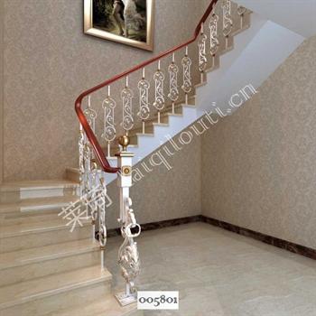 手工锻造铁艺楼梯005801的图片
