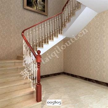 手工锻造铁艺楼梯005803的图片