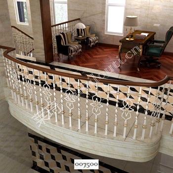 手工锻造铁艺楼梯007500的图片