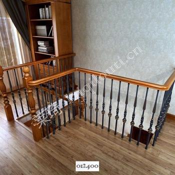 手工锻造铁艺楼梯012400的图片