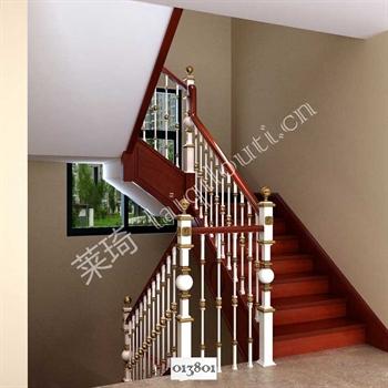 手工锻造铁艺楼梯013801的图片
