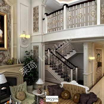 手工锻造铁艺楼梯015301的图片