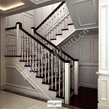 手工锻造铁艺楼梯015402的图片