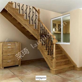手工锻造铁艺楼梯017900的图片