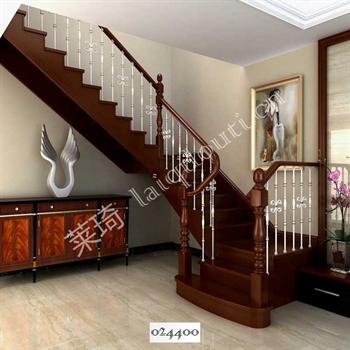 手工锻造铁艺楼梯024400的图片