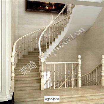 手工锻造铁艺楼梯030400的图片