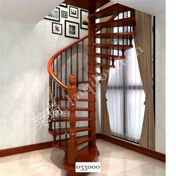 手工锻造铁艺楼梯033000的图片