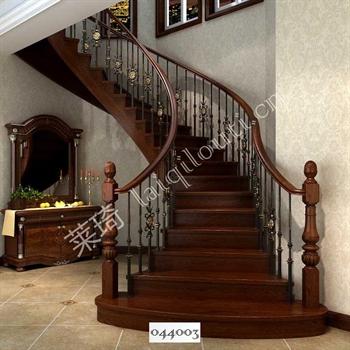 手工锻造铁艺楼梯044003的图片