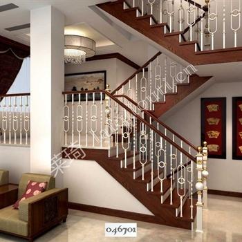手工锻造铁艺楼梯046701的图片