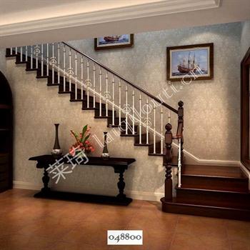手工锻造铁艺楼梯048800的图片