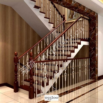 手工锻造铁艺楼梯055200的图片