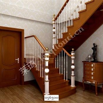 手工锻造铁艺楼梯056300的图片