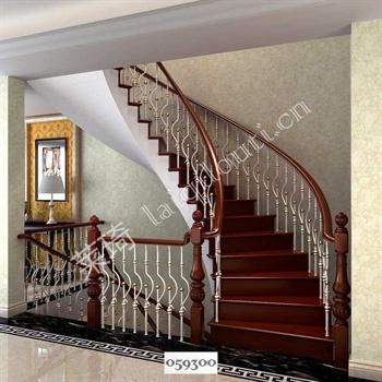 手工锻造铁艺楼梯059300的图片