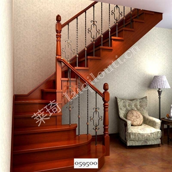 手工锻造铁艺楼梯059500的图片