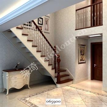 手工锻造铁艺楼梯065900的图片