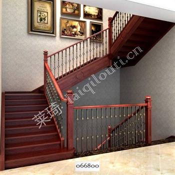 手工锻造铁艺楼梯066800的图片