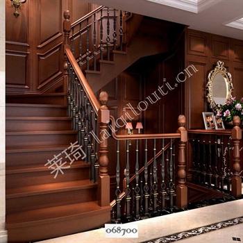手工锻造铁艺楼梯068700的图片