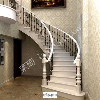 手工锻造铁艺楼梯069400的图片