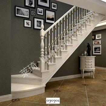 手工锻造铁艺楼梯070701的图片