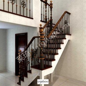 手工锻造铁艺楼梯071600的图片