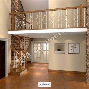 手工锻造铁艺楼梯078600的图片