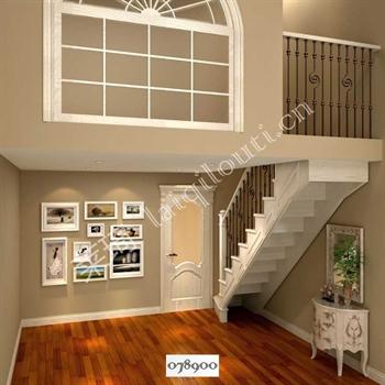 手工锻造铁艺楼梯078900的图片