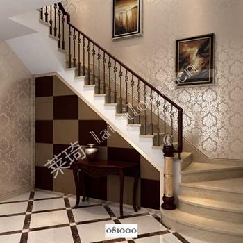 手工锻造铁艺楼梯081000的图片